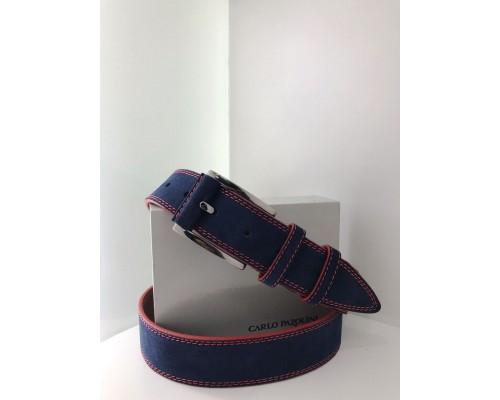 Ремень джинсовый (40 мм) 6-МБ 16-40 замш